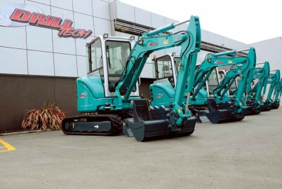 These zero-tail 4.2-tonne units are now part of DrillTech's fleet.